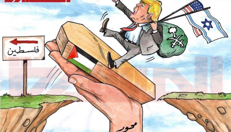كاريكاتير محور المقاومة