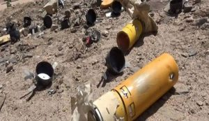 العدوان يستهدف مديرية منبة في صعدة بقنابل عنقودية
