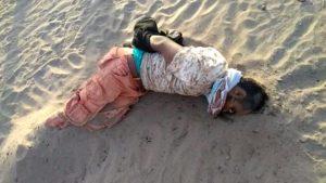 العثور على جثة جندي موالي للإصلاح والفار هادي شاهد الصورة